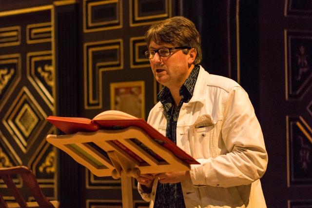 Poet Simon Armitage.  Pic: Helena Miscioscia