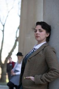 Rachel Waring, 26, plays Hamlet.