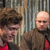 Macca and Tommy, played by Adam Patrick Boakes and Joshua Garwood  Pic: Tania van Amse