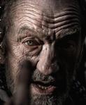 John McEnery as Lear