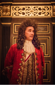 Mark Rylance as King Philip.