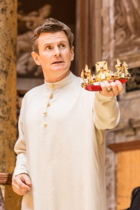 RICHARD 2ND by Shakespeare,           , writer – William Shakespeare, Director -  Simon Goodwin, Designer – Paul Willis, The Globe Theatre, London. Credit: Johan Persson/